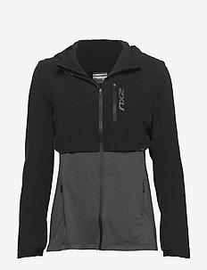 GHST 2 In 1 Jacket-W - BLACK/BLACK MARLE