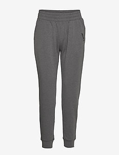 Training Pant-W - treenihousut - grey marle/grey marle