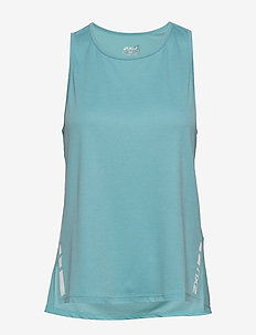 XVENT G2 Racer Singlet-W - tank tops - bluejay/white reflective