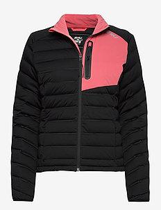 PURSUIT Insulation Jacket-W - kurtki sportowe - black/pink lift