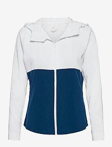 XVENT DWR Jacket-W - träningsjackor - white/poseidon