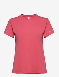 XVENT G2 S/S Tee-W - t-shirts - pink lift/silver reflective