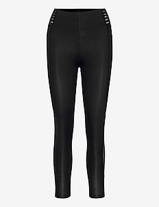 BREEZE MESH HI-RISE TIGHTS - sportleggings - black/black