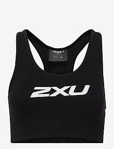 MOTION RACERBACK CROP - sport bras: medium - black/white