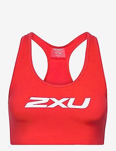 MOTION RACERBACK CROP - sport bras: medium - high risk red/white