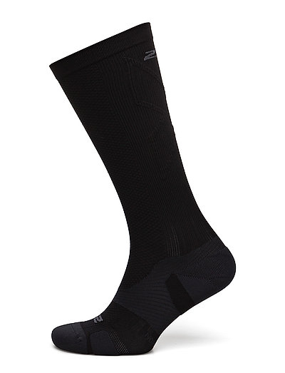 VECTR Light Cushion FullLength Socks - BLACK/TITANIUM