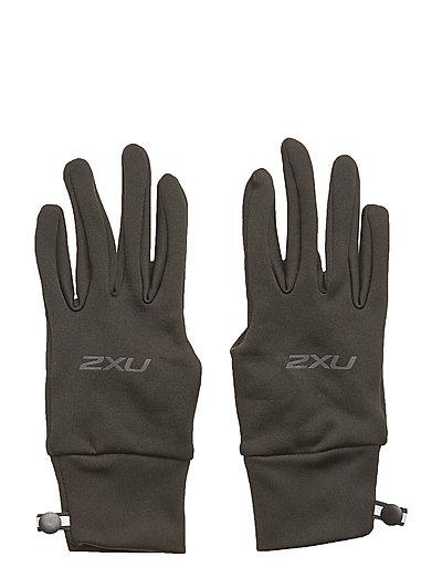 Run Glove - BLACK/BLACK REFLECTIVE