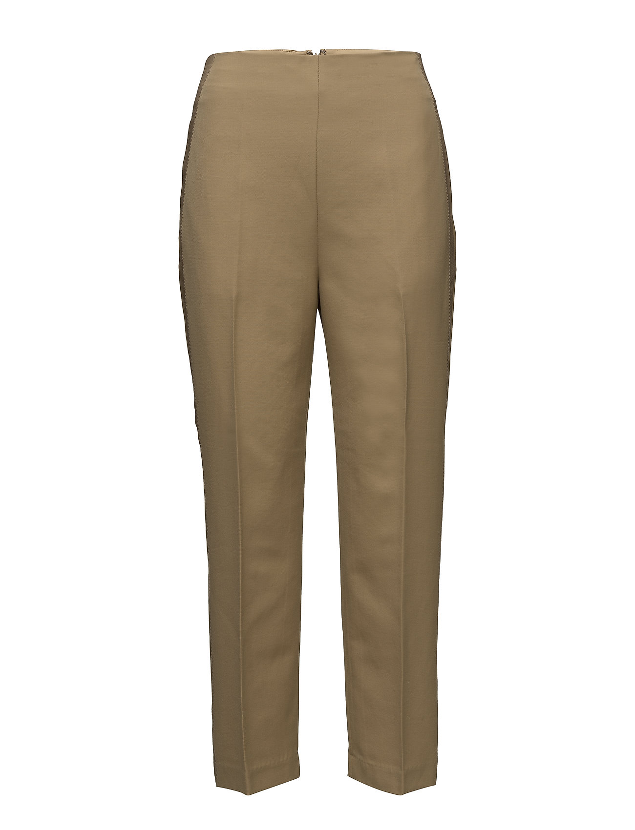 Image of Tailored Pant W Grosgrain Trim Bukser Med Lige Ben Brun 3.1 PHILLIP LIM (3055981327)