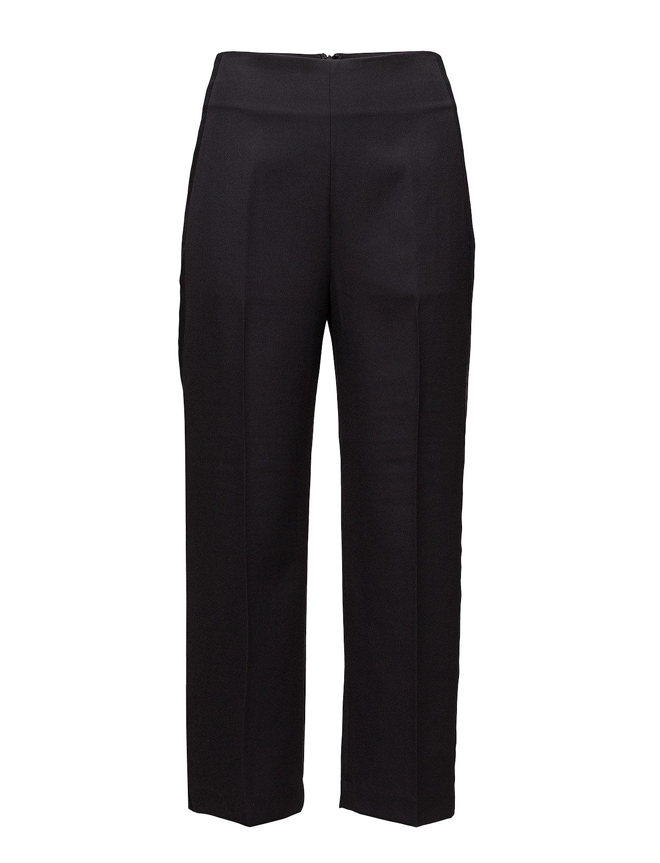 Image of Tailored Pant W Grosgrain Trim Bukser Med Lige Ben Sort 3.1 PHILLIP LIM (3026627581)