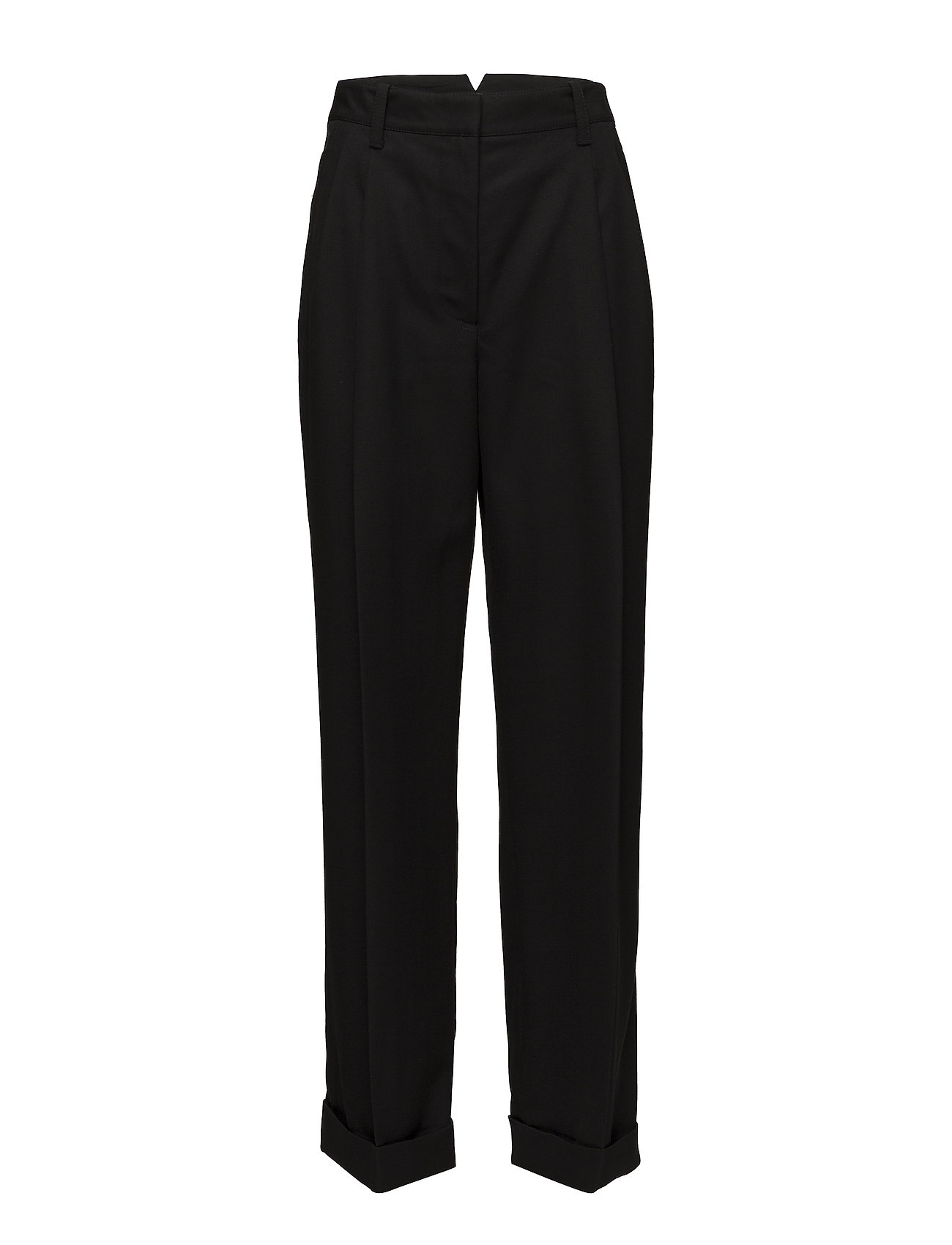 Image of Baggy Tailored Pant Bukser Med Lige Ben Sort 3.1 PHILLIP LIM (3059819973)
