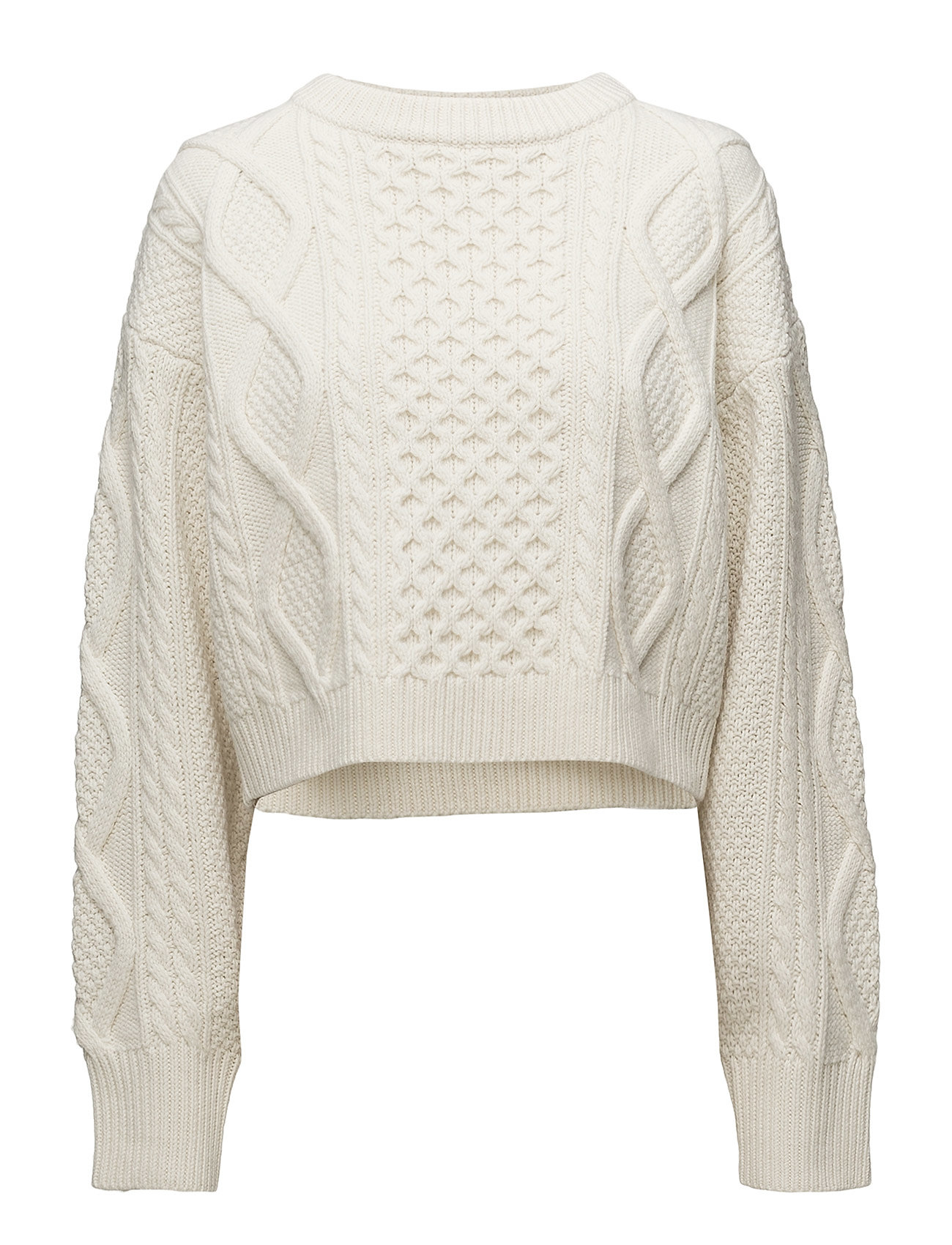 4826ea4561e Ls Cropped Boxy Aran Cable Sweater (Ivory) (2046 kr) - 3.1 Phillip ...