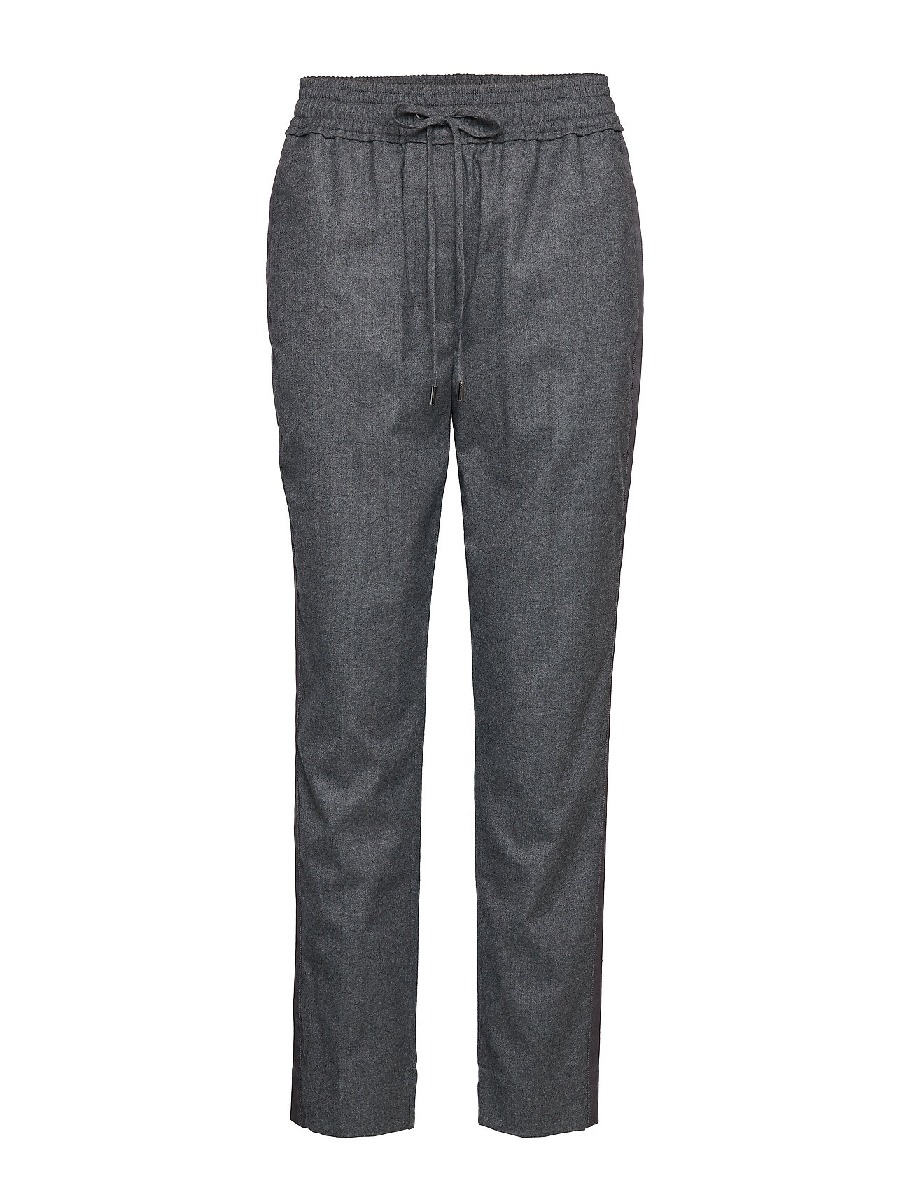 Image of Track Pant W Side Stripe Bukser Med Lige Ben Grå 3.1 PHILLIP LIM (3194145507)