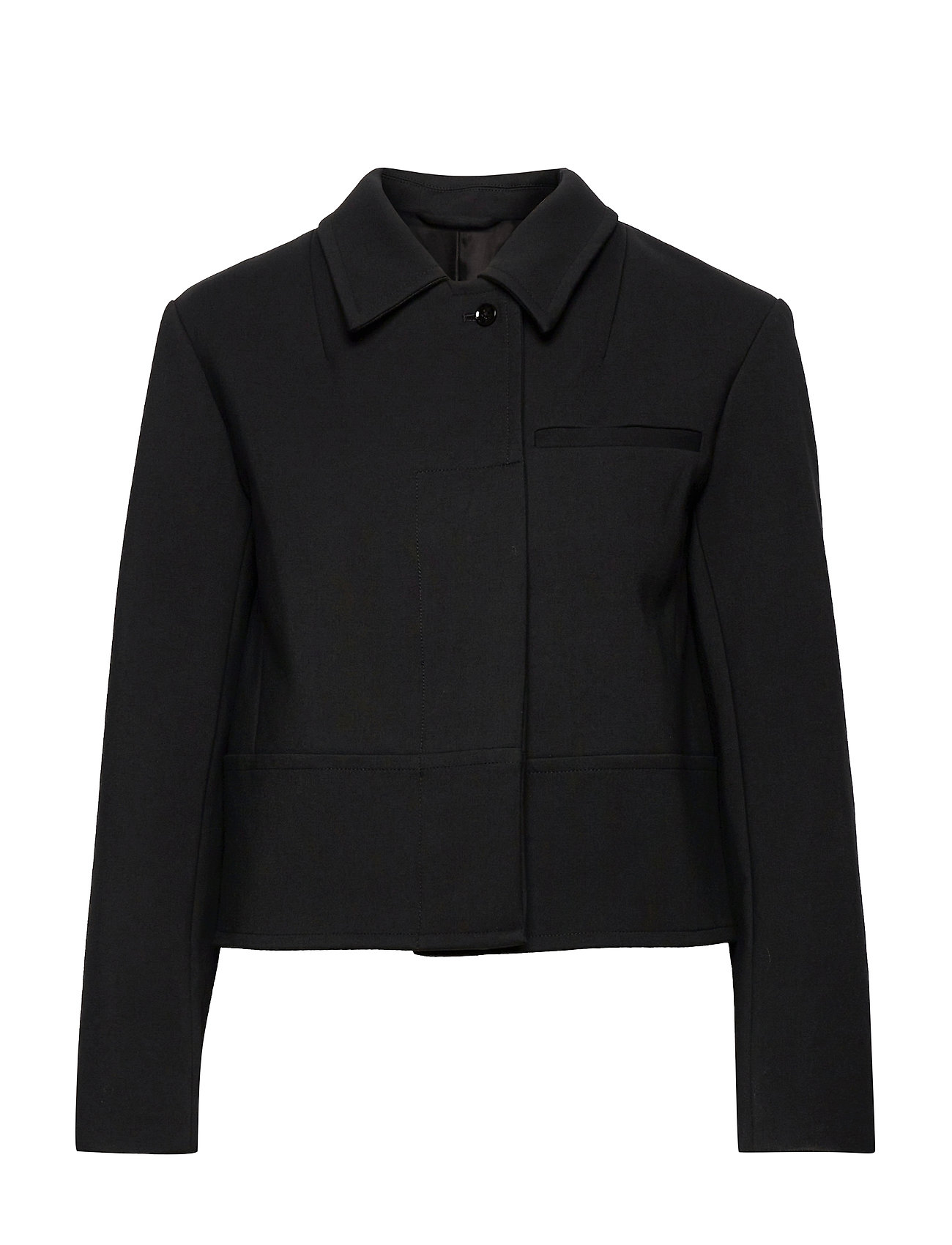 P212-6183elv / Convertible Collar Valet Jacket Blazers Bouclé Blazers Sort 3.1 Phillip Lim