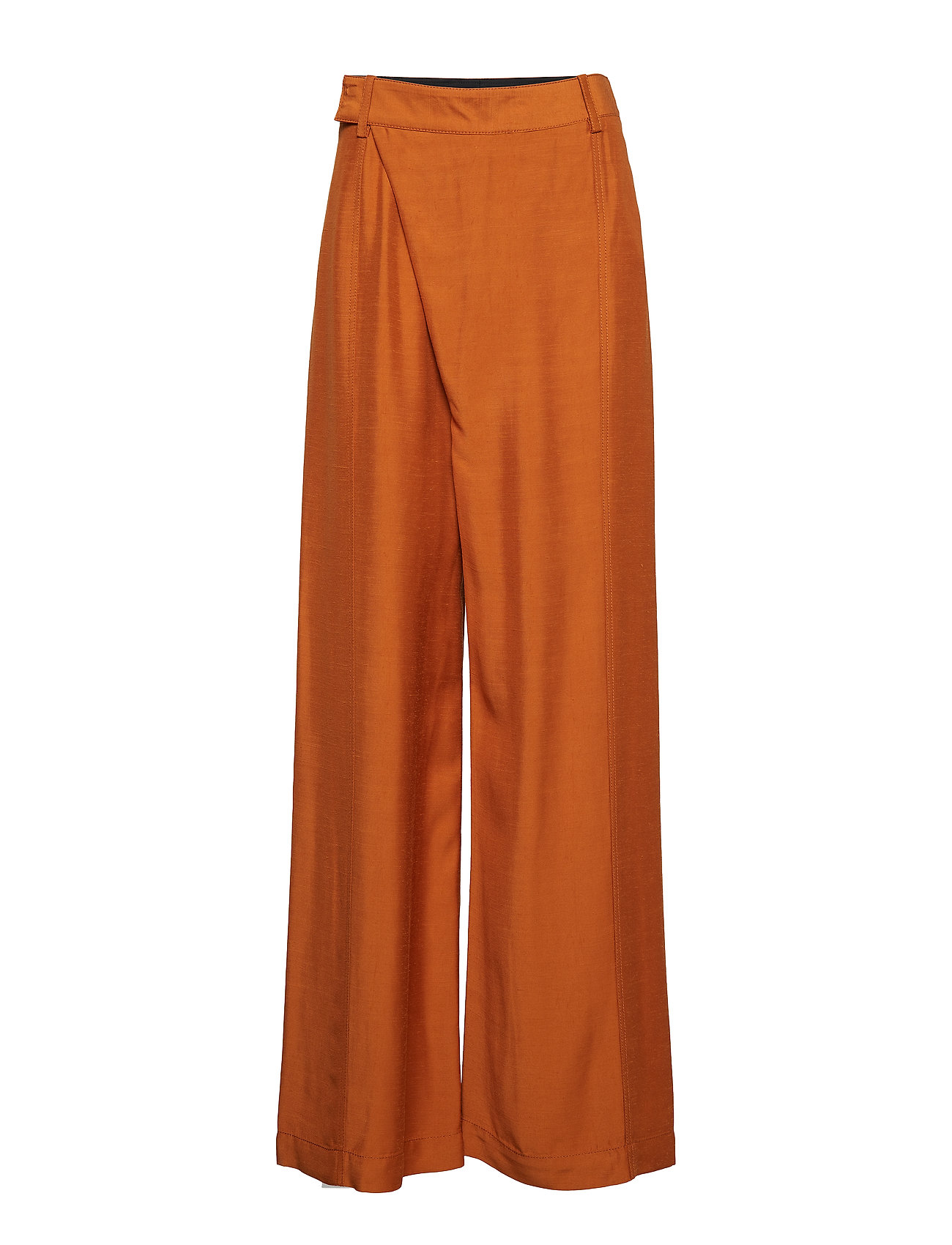 Image of Sateen Front Overlap Long Pant Vide Bukser Orange 3.1 Phillip Lim (3127174969)