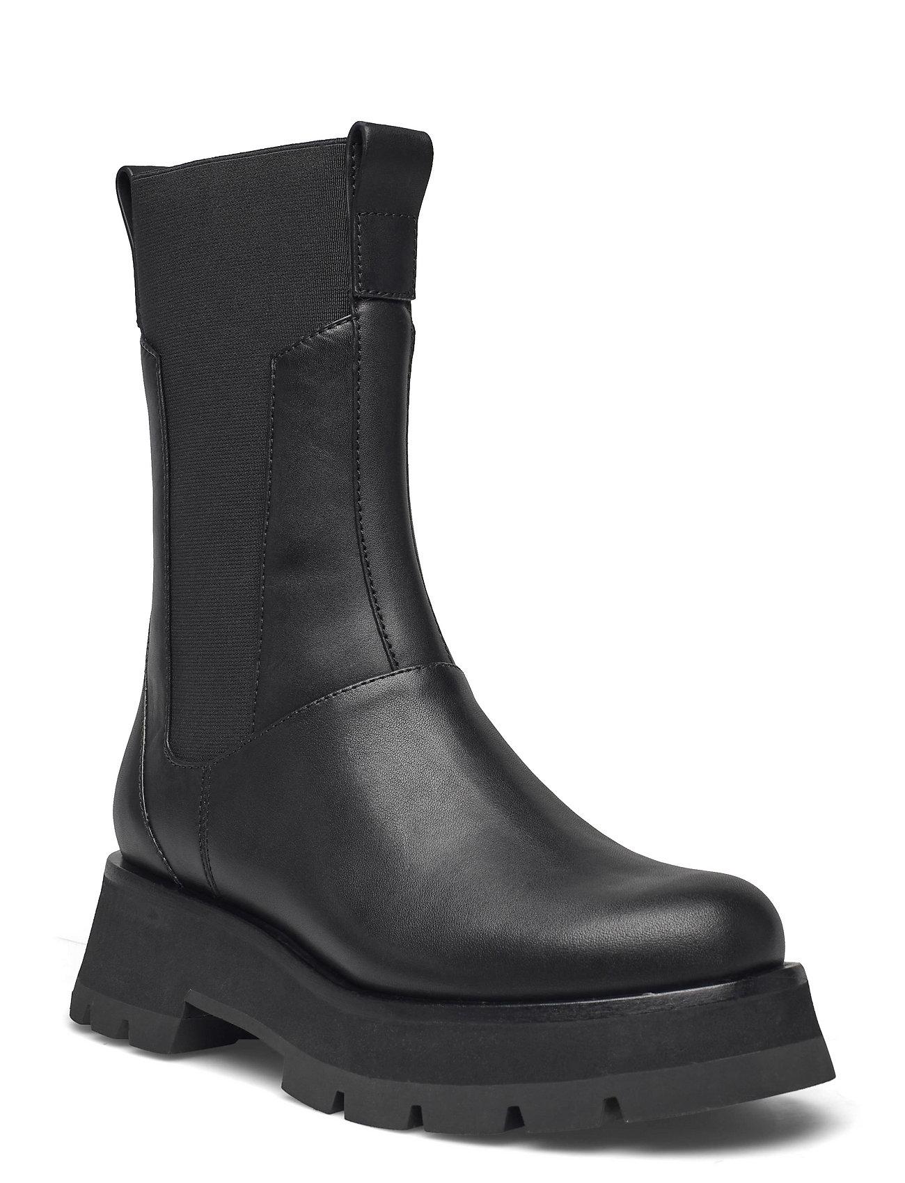 Ssf0-T748sen / Kate - Lug Sole Combat Boot Shoes Chelsea Boots Sort 3.1 Phillip Lim