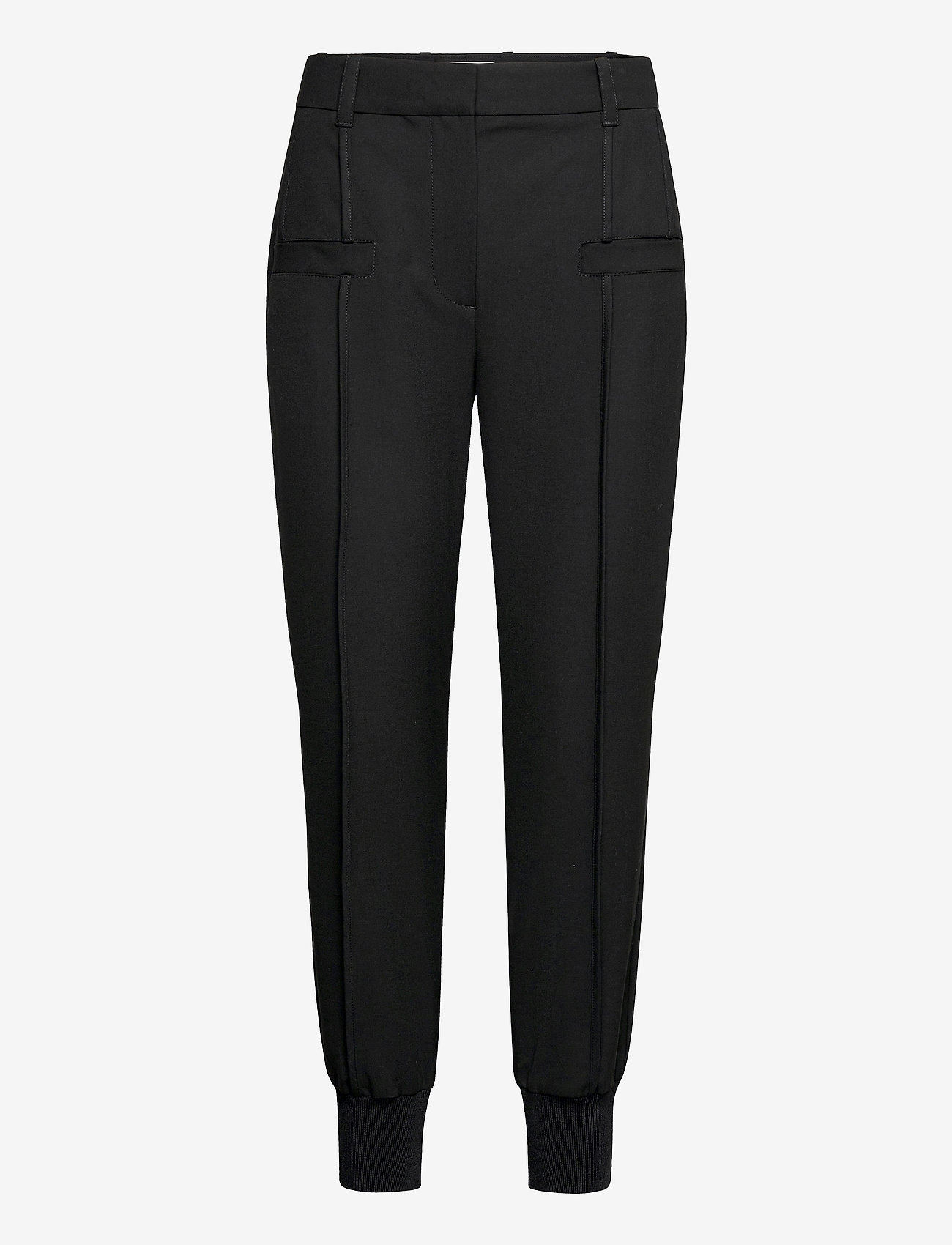 3.1 Phillip Lim - JOGGER W FRONT POCKET DETAIL - tøj - black - 0