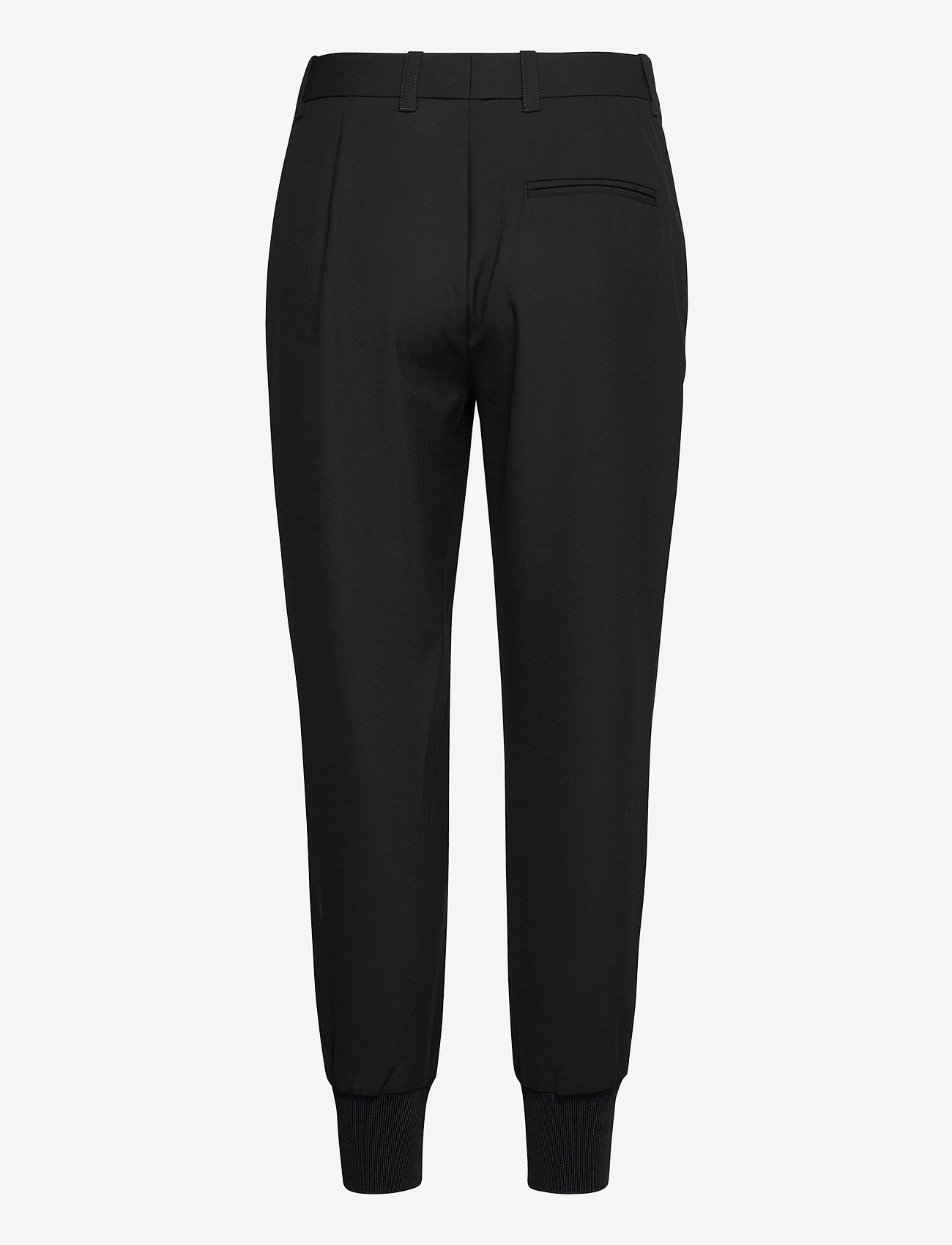3.1 Phillip Lim - JOGGER W FRONT POCKET DETAIL - tøj - black - 1