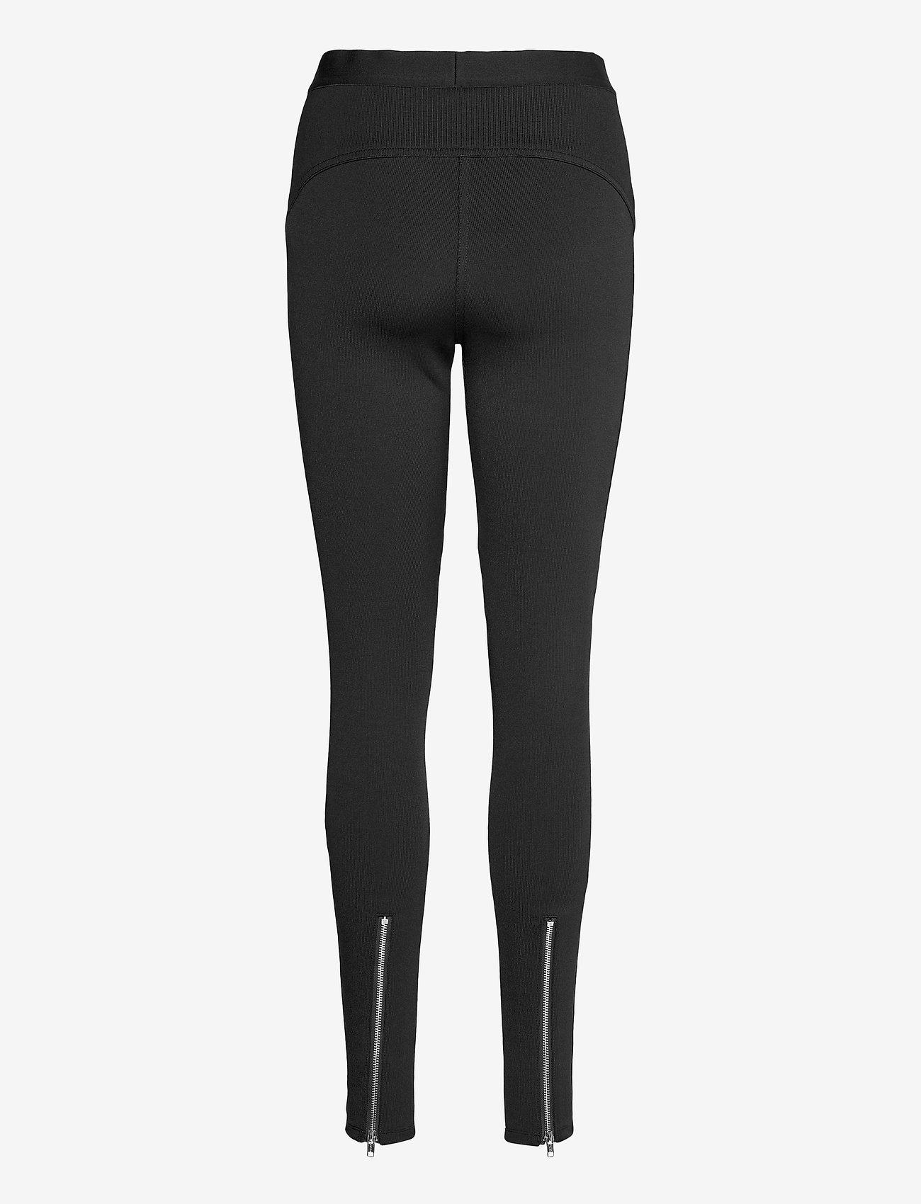 3.1 Phillip Lim - NOVELTY JERSEY LEGGINGS - leggings - black - 1