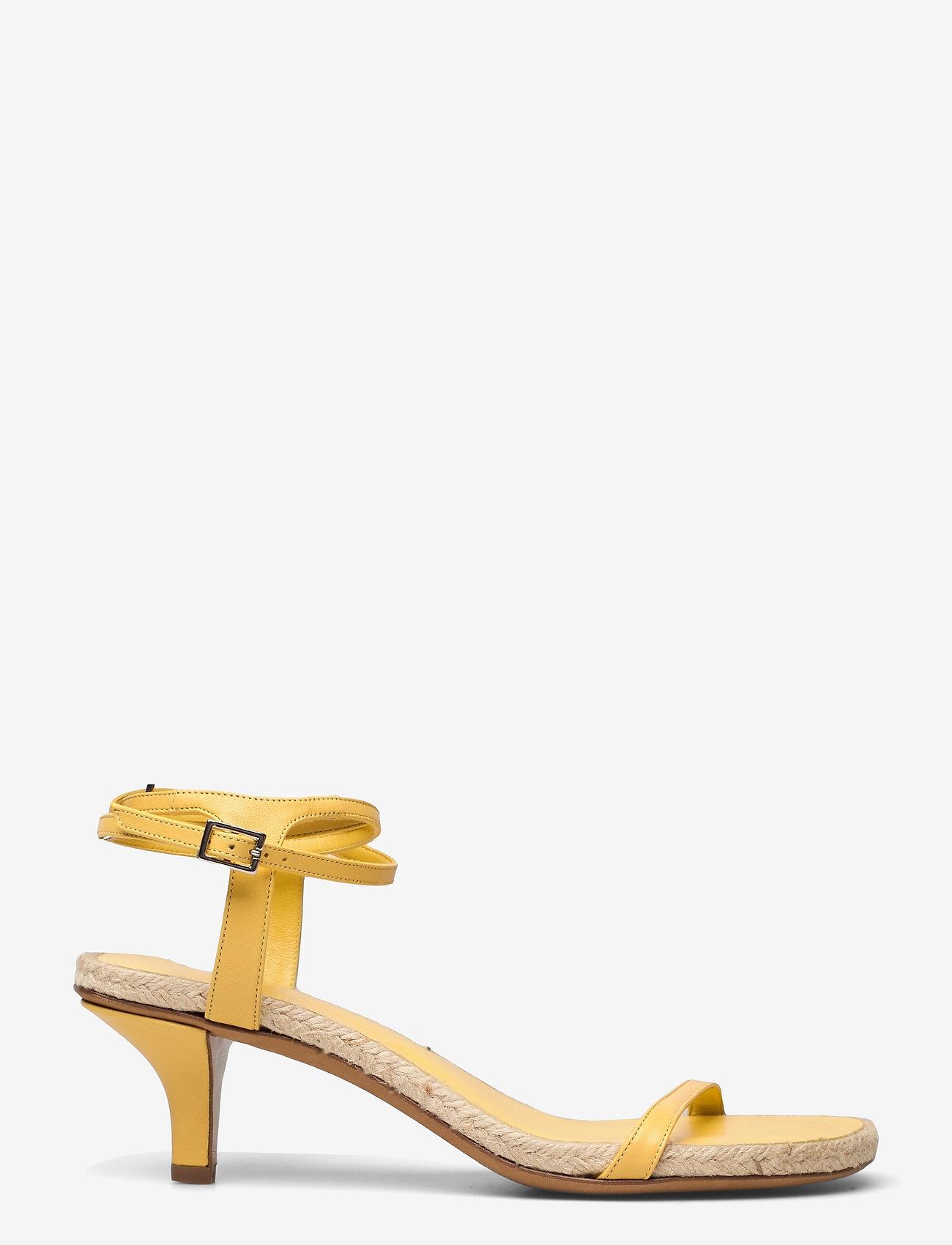 3.1 Phillip Lim - YASMINE- 50MM ESPADRILLE HEEL - høyhælte sandaler - sunshine - 0