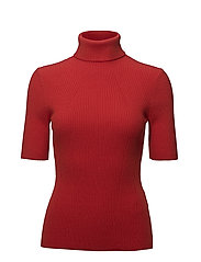 3.1 Phillip Lim - Elbow Length Ribbed Turtleneck