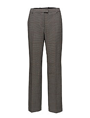 LONG STOVEPIPE PANT - BLK-WHITE