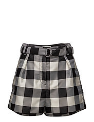 3.1 Phillip Lim - Gingham Belted Military Shorts