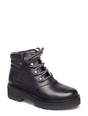 DYLAN - LACE UP HIKING BOOT - BLACK