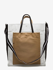 3.1 Phillip Lim - ACCORDION SHOPPER - fashion shoppers - natural - 0