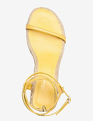 3.1 Phillip Lim - YASMINE- 50MM ESPADRILLE HEEL - høyhælte sandaler - sunshine - 3