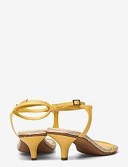 3.1 Phillip Lim - YASMINE- 50MM ESPADRILLE HEEL - høyhælte sandaler - sunshine - 4