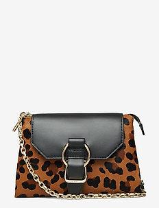 CHARLOTTE SOFT CROSSBODY - skuldervesker - leopard