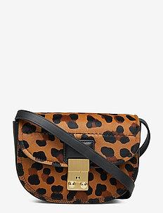 PASHLI MINI SADDLE BELT BAG - skuldertasker - leopard