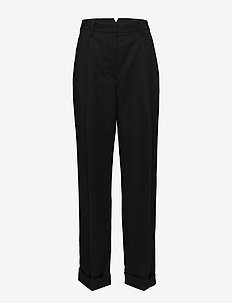 BAGGY TAILORED PANT - BLACK