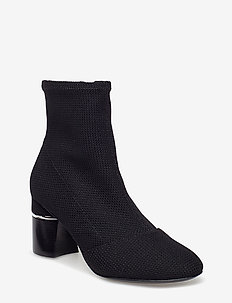 DRUM - 70MM STRETCH ANKLE BOOT - BLACK