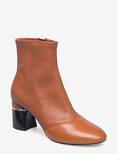 DRUM - 70MM STRETCH ANKLE BOOT - COGNAC
