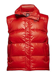 Dyngja Down Vest - BLOOD ORANGE