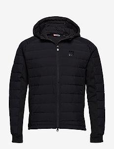 OK Down Jacket - BLACK WITH BLACK
