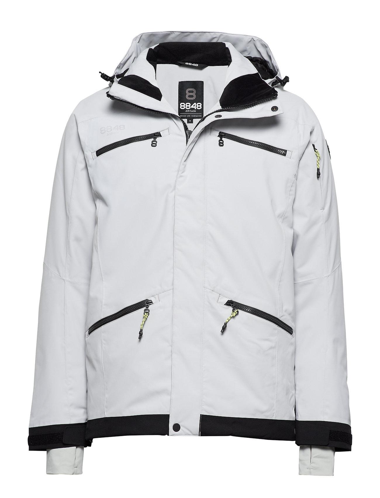 8848 Altitude Fairbank Jacket - LT GREY