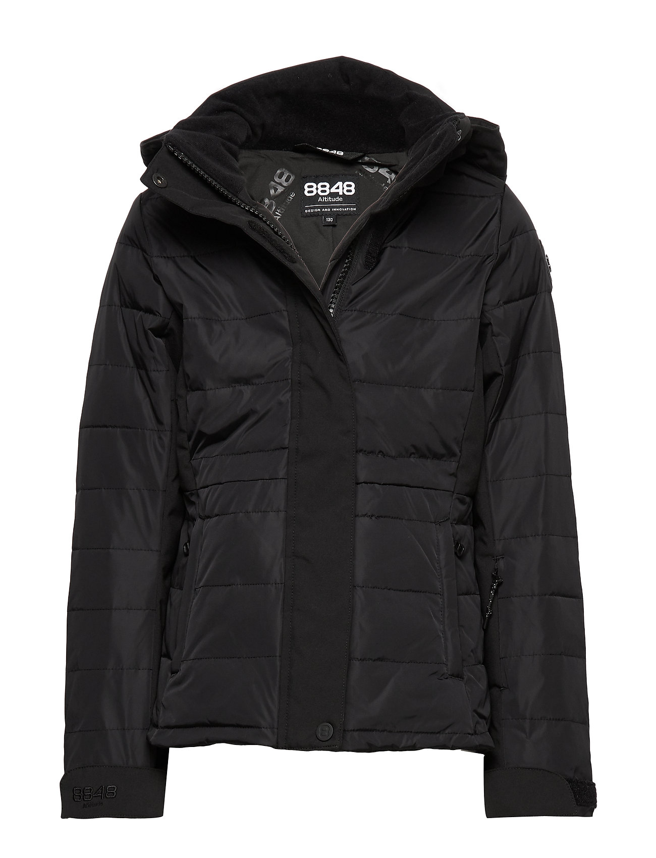 8848 Altitude Mini JR Jacket - BLACK