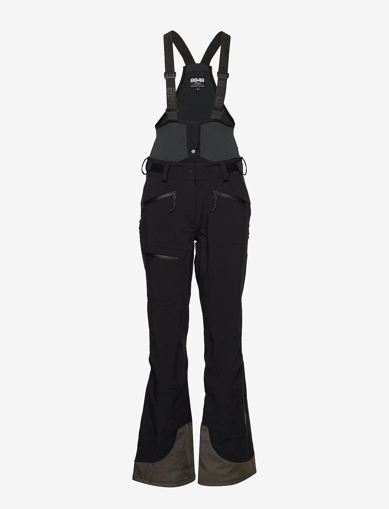 8848 Altitude - Chute W Pant - shell pants - black - 0