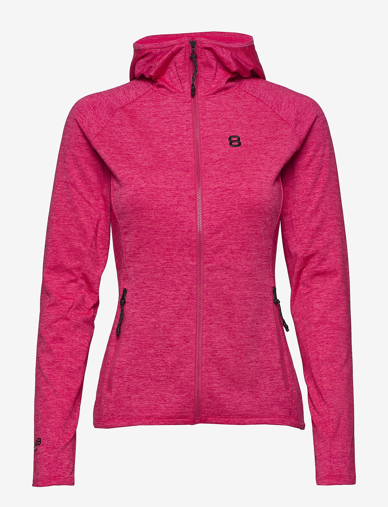 8848 Altitude - Peach W Sweat - mid layer jackets - magenta - 0