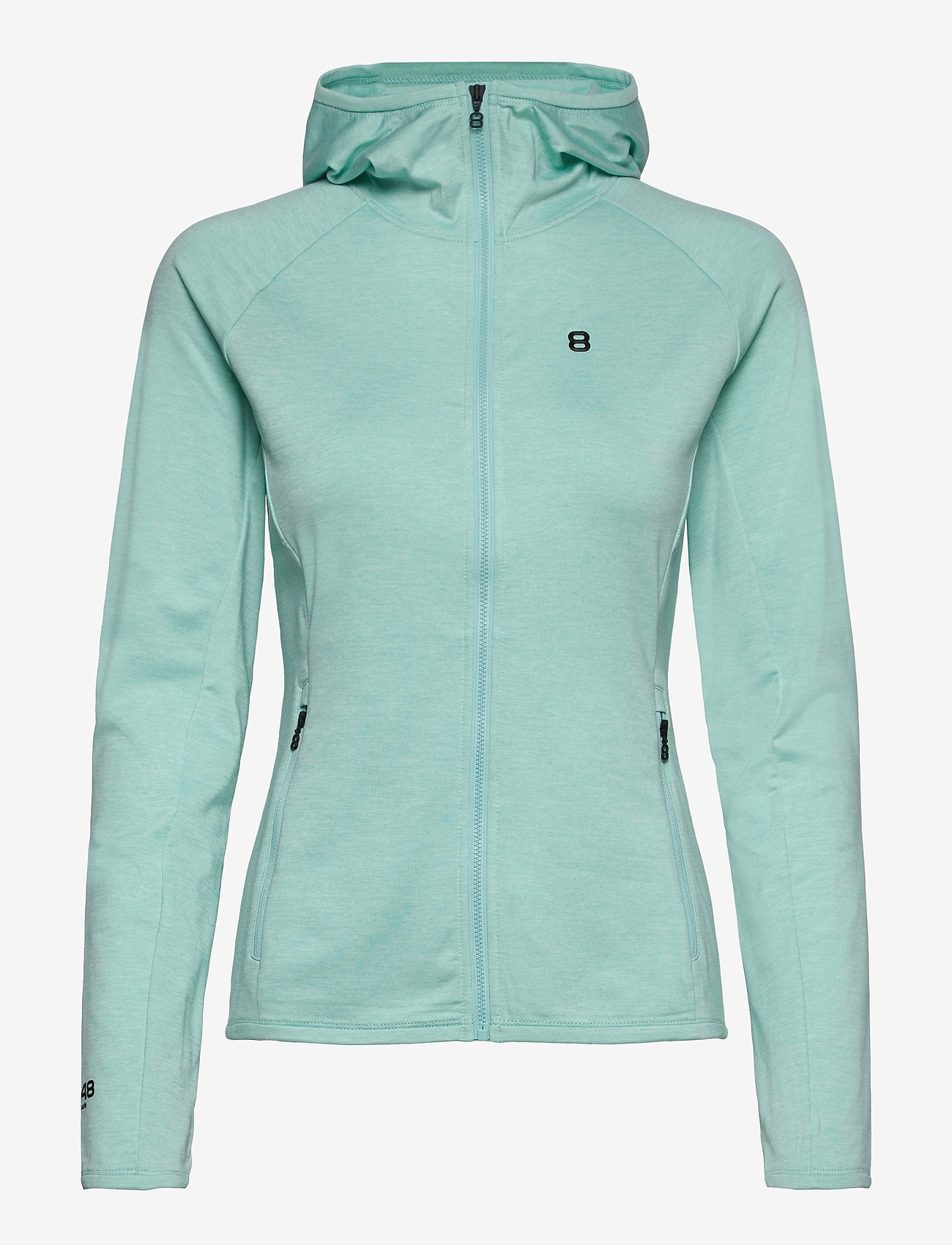 8848 Altitude - Peach W Hoodie - fleece - mint - 0