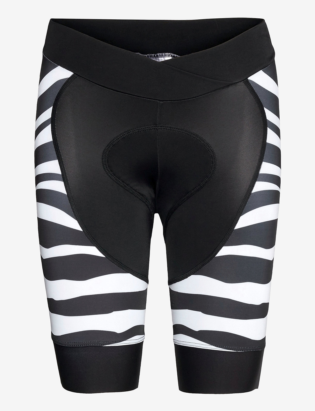 8848 Altitude - Coca 2.0 W Bike Shor - cycling shorts & tights - zebra black - 0