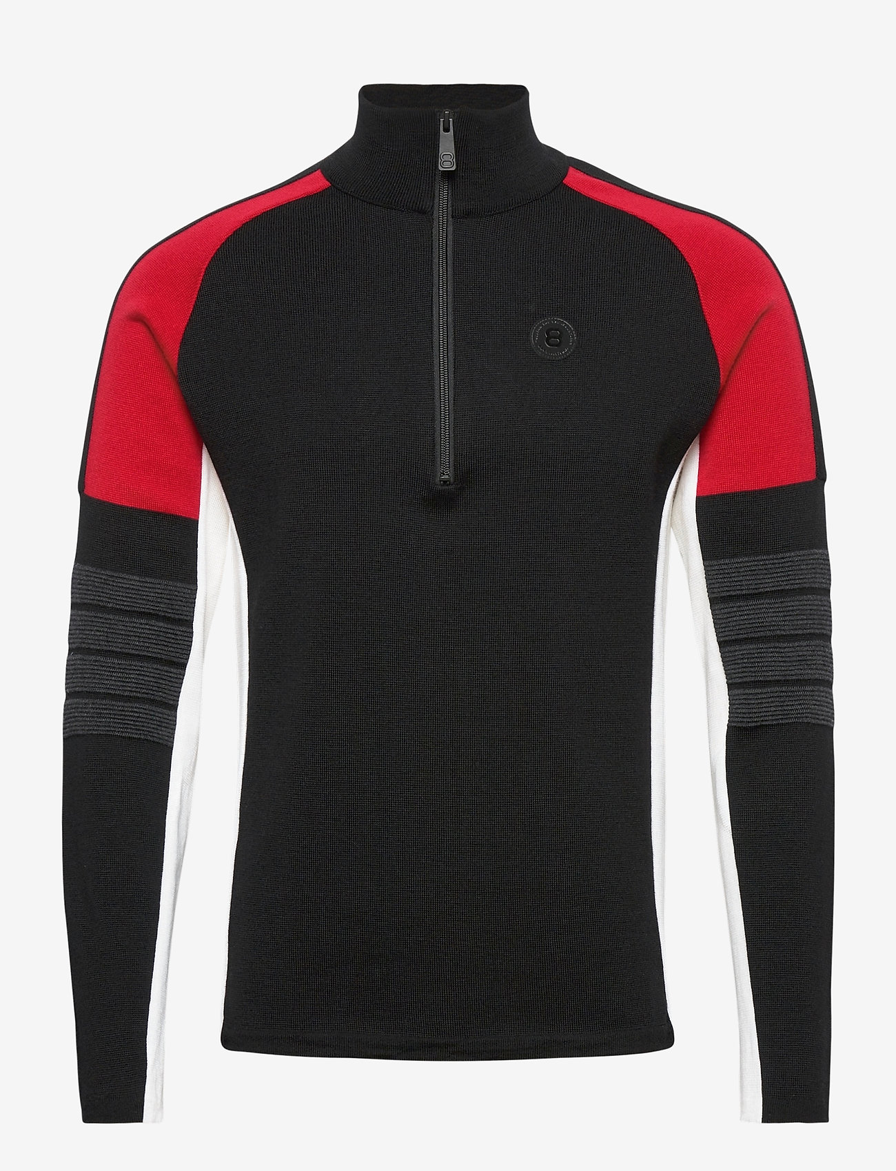 8848 Altitude - Trysil Sweat - half zip - black - 0