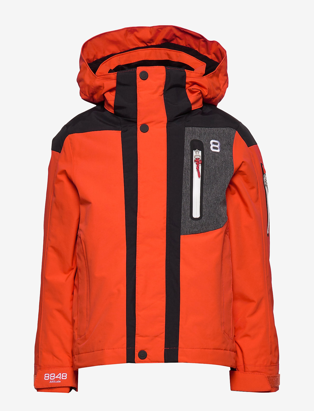8848 Altitude - Aragon JR Jacket - thermo jacket - red clay - 1