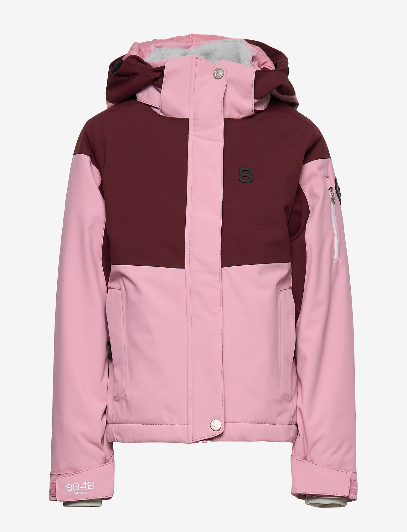 8848 Altitude - Florina JR Jacket - kurtka zimowa - rose - 1