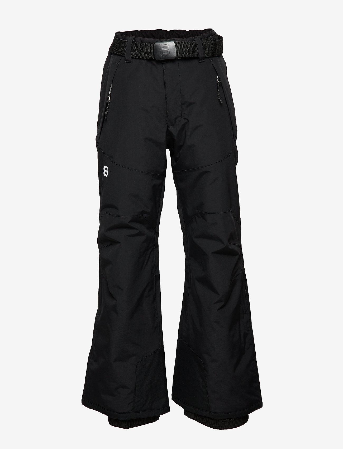 8848 Altitude - Inca JR Pant - spodnie zimowe - black - 0