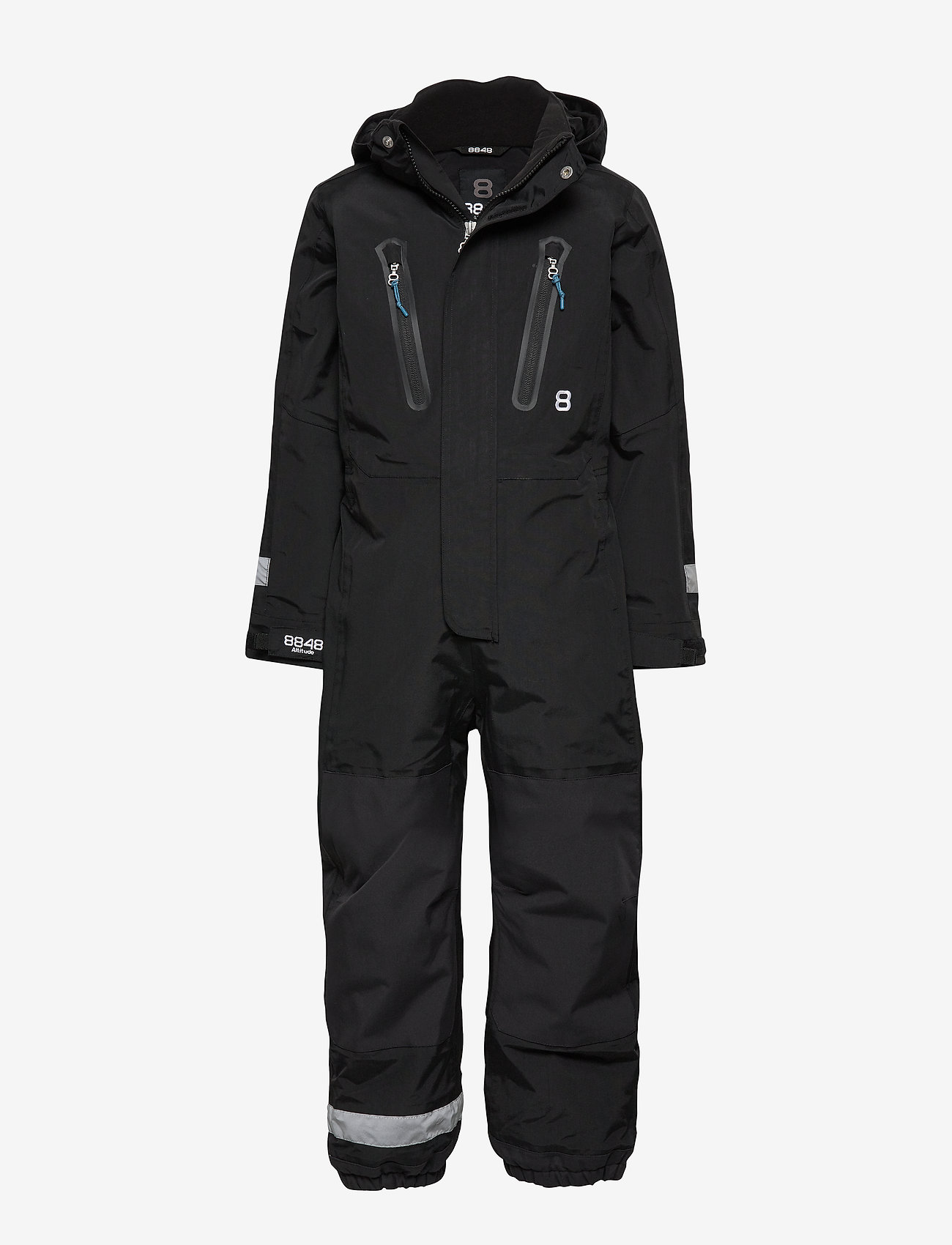 8848 Altitude - Karel Minior suit - snowsuit - black - 0