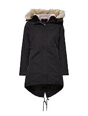 Amiata W Parka - BLACK