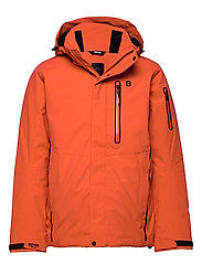 Castor Jacket - RED CLAY